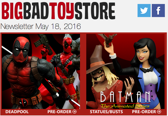 BBTS News: Diamond Select, MMPR, Star Wars, Marvel, Transformers, Aliens & More