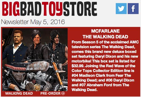 BBTS News: The Walking Dead, Green Arrow, Bandai JP, TMNT, Marvel, Star Wars, Gremlins, Third Party & More