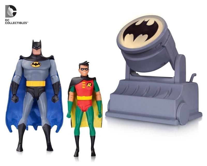 DC Collectibles Shipping This Week: Batman The Animated Series Batmobile & Batsignal