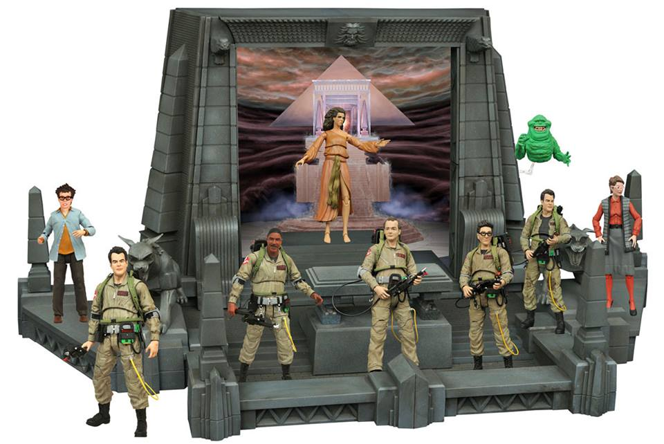 Diamond Select Toys Ghostbusters Select 7″ Scale Rooftop Blueprints
