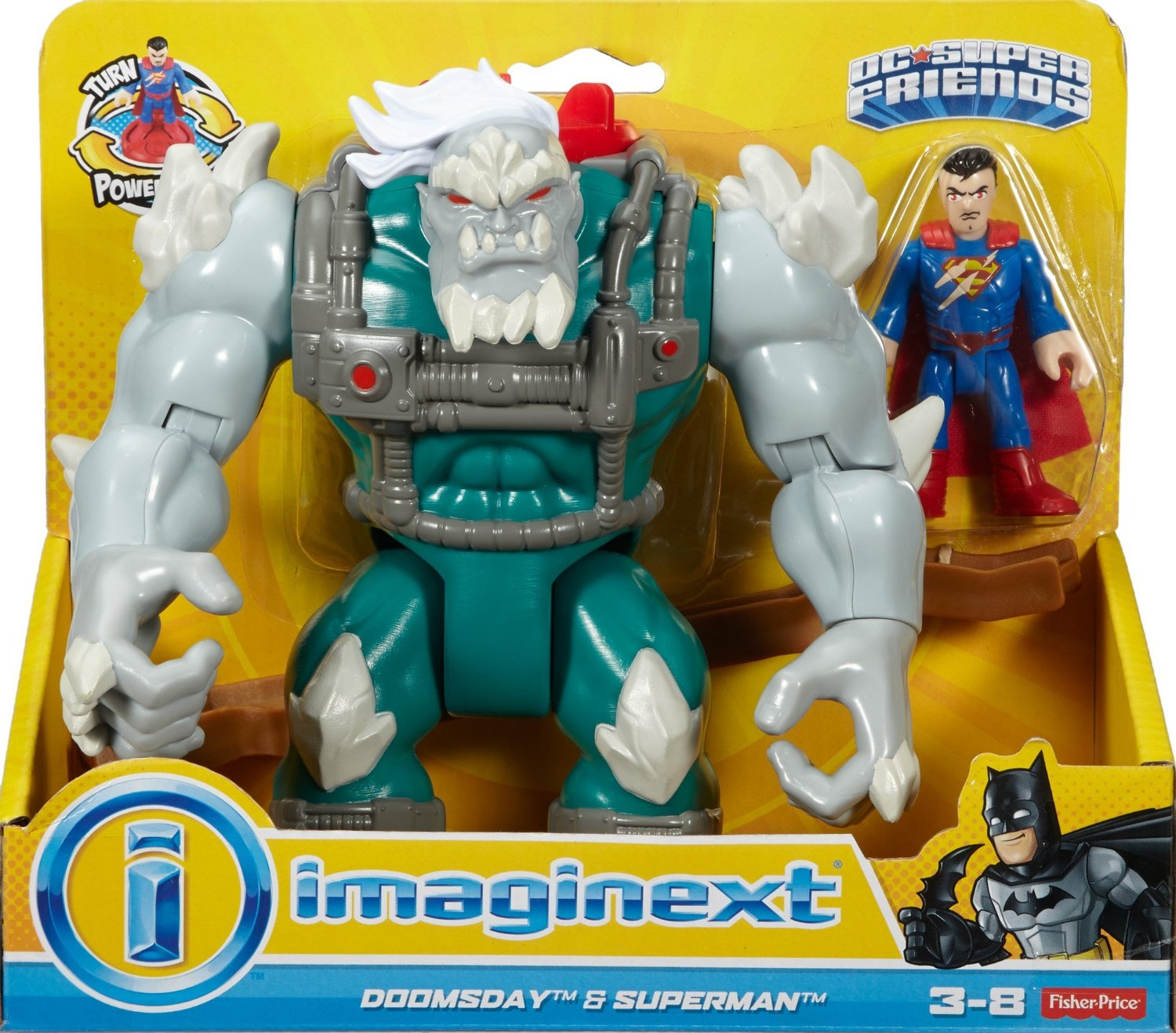 Fisher-Price Imaginext DC Super Friends Deluxe Doomsday With Superman $14.99 On Amazon