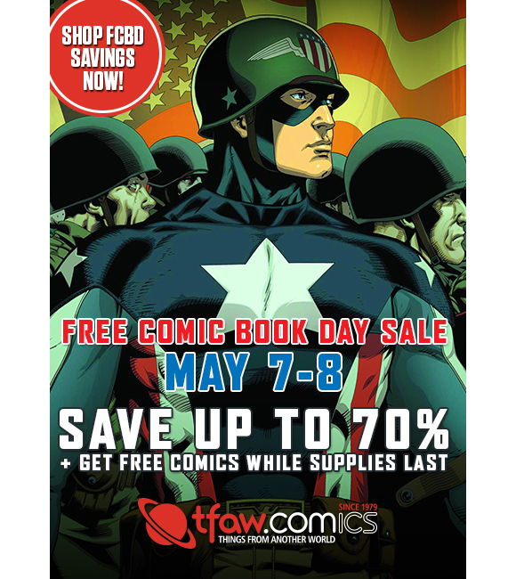 Free Comic Book Day Sale At TFAW