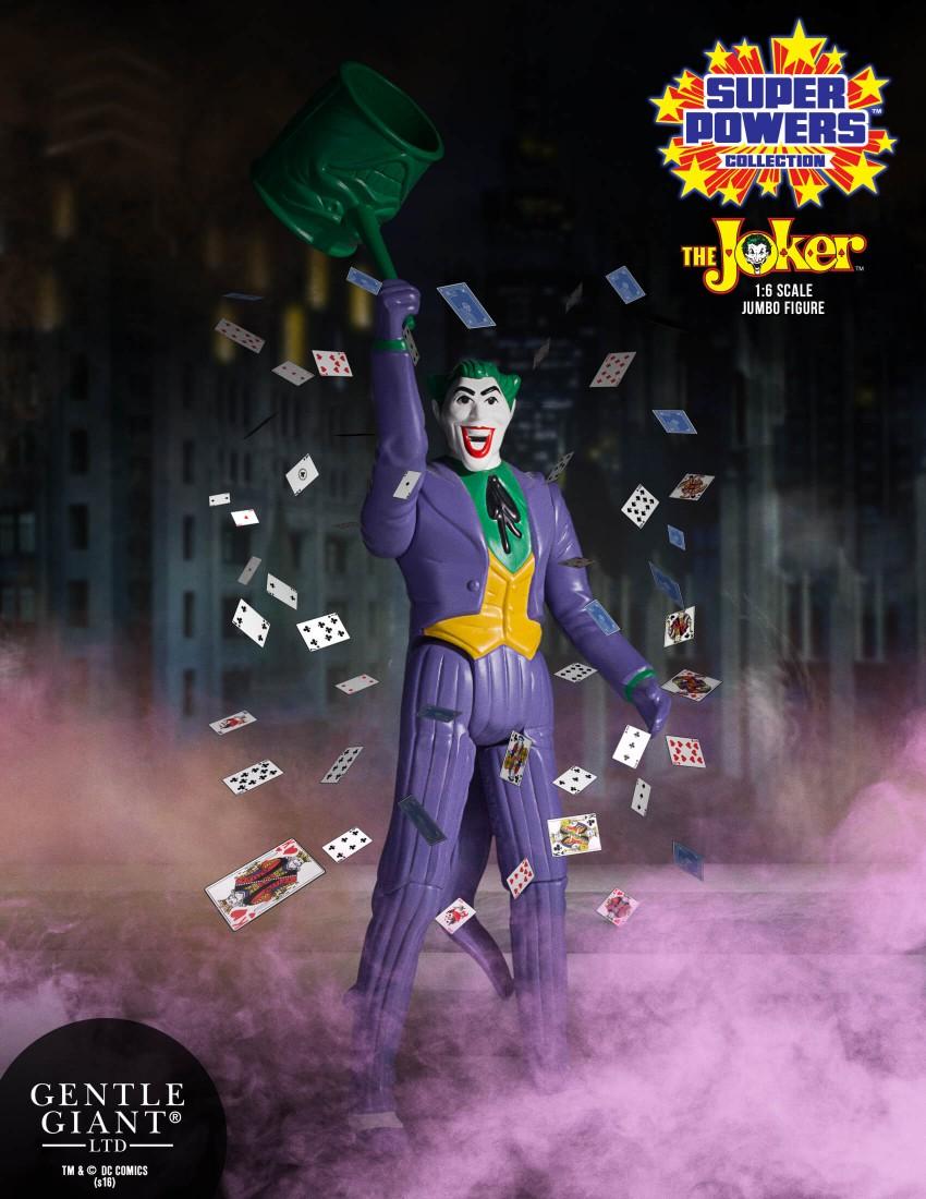 Gentle Giant DC Comics Super Powers Joker Jumbo Figure