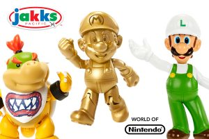 JAKKS Pacific Rolls Out All-New World Of Nintendo Items To Mass Retailers This Spring