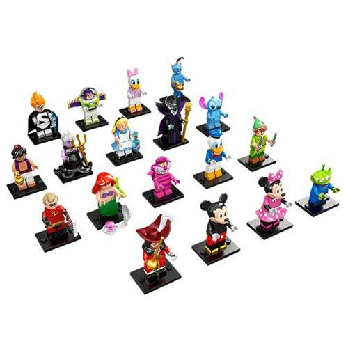 LEGO Disney Series Mini-Figures Display Box 60 Figures On Entertainment Earth