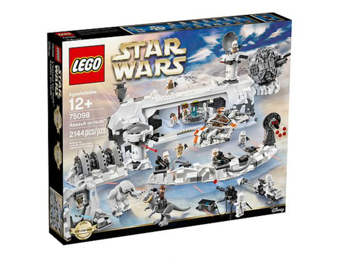 LEGO Star Wars Assault On Hoth 75098 Set Now Available At LEGO Shop