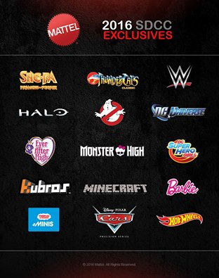 Mattel To Announce SDCC 2016 Exclusives On Friday, May 20th