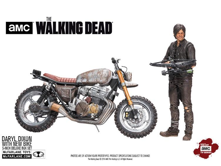 McFarlane Toys The Walking Dead TV Series – Daryl Dixon With New Bike Deluxe Boxed Set