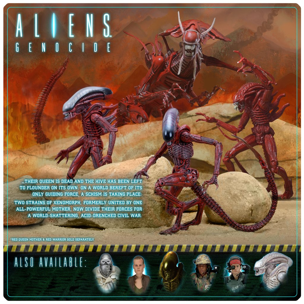 NECA Toys Alien Genocide 2-Pack With Dog & Big Chap