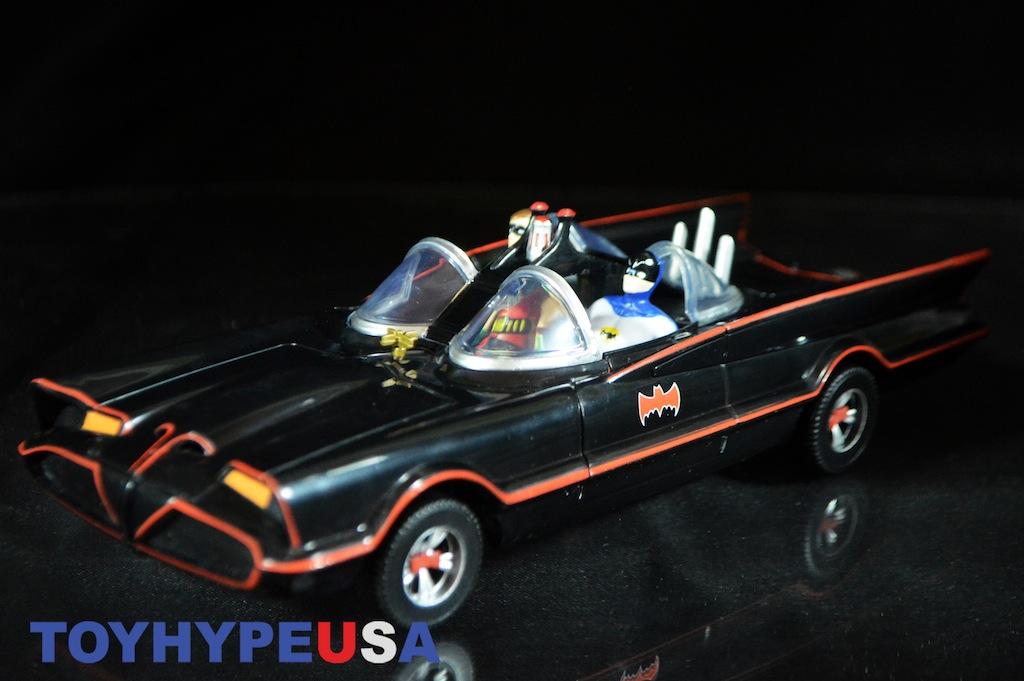 NJ Croce Batman Classic TV Series Batmobile With Bendable Figures Review