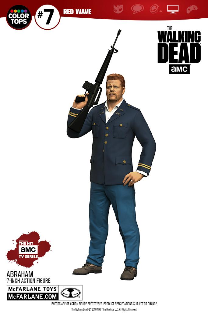 McFarlane Toys The Walking Dead Daryl Dixon & Abraham 7″ Figures
