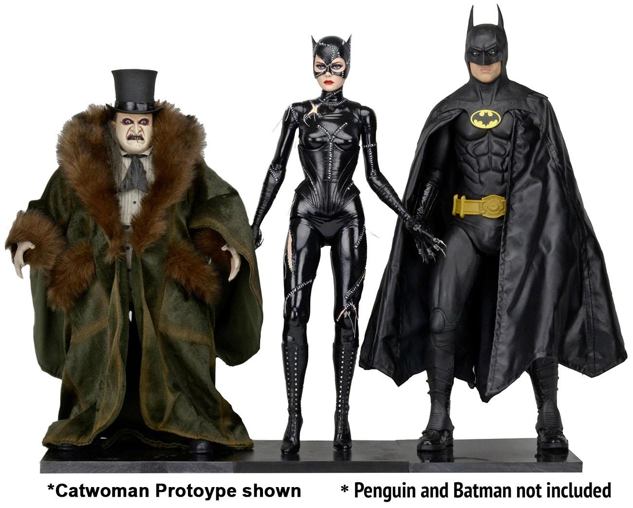 NECA Toys Batman Returns 1/4″ Scale Catwoman Figure On Amazon & eBay Storefront
