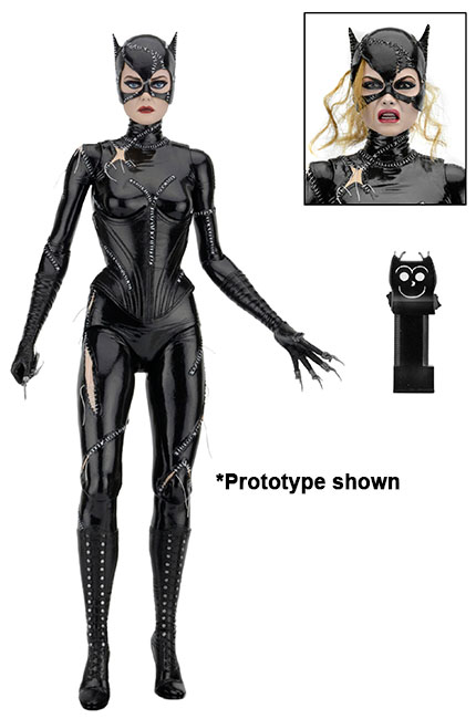 NECA Toys 1/4″ Scale Batman Returns Catwoman Figure Packaging Preview