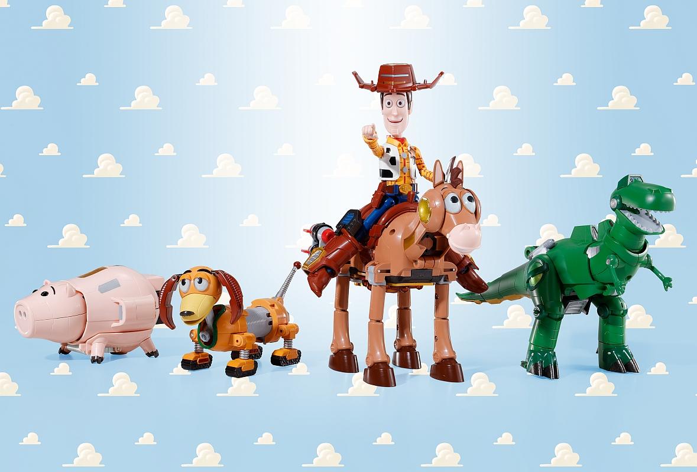 Chogokin Toy Story Combination Woody Robo Sheriff Star
