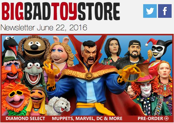 BigBadToyStore Update: Diamond Select, Marvel Play Arts Kai, TF Unicron, Street Fighter, Pokemon, The Walking Dead & More