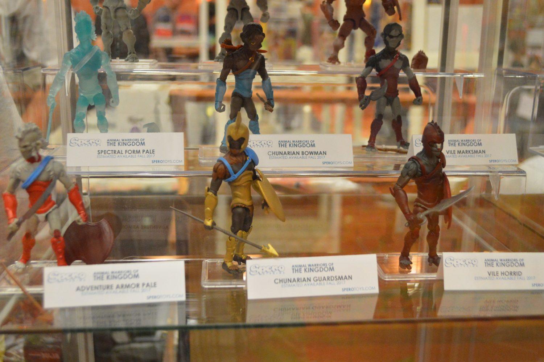G.I. JoeCon 2016 – Animal Warriors Of The Kingdom On Display