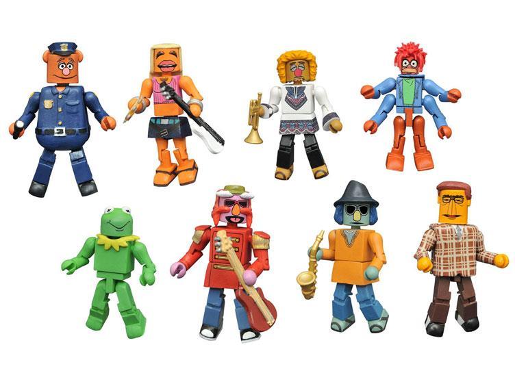 Diamond Select Toys Muppets Minimates Series 3 Figures