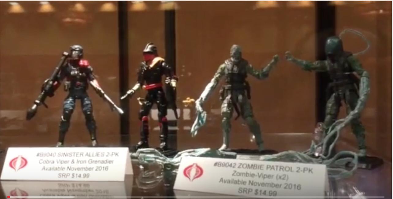 G.I. JoeCon 2016 – Hasbro Booth Video Walkthrough