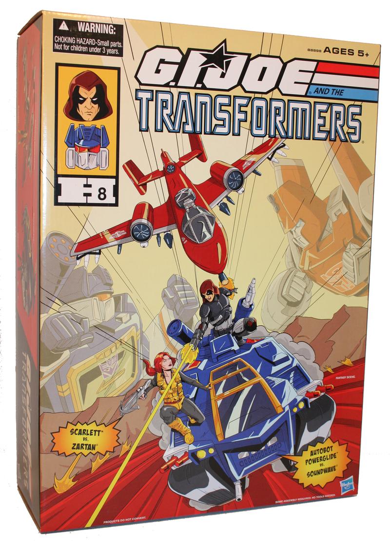 Hasbro SDCC 2016 Exclusive G.I. Joe/Transformers Crossover Set Announced