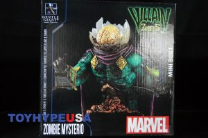 Gentle Giant Villain Zombies - Zombie Mysterio Mini Bust 01