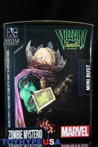 Gentle Giant Villain Zombies - Zombie Mysterio Mini Bust 02
