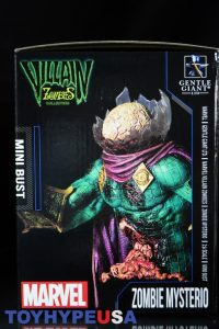 Gentle Giant Villain Zombies - Zombie Mysterio Mini Bust 03
