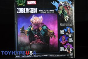 Gentle Giant Villain Zombies - Zombie Mysterio Mini Bust 04