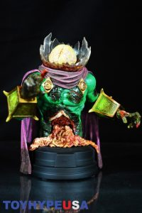 Gentle Giant Villain Zombies - Zombie Mysterio Mini Bust 08