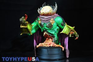 Gentle Giant Villain Zombies - Zombie Mysterio Mini Bust 09