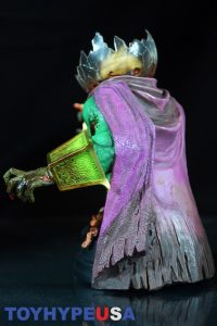 Gentle Giant Villain Zombies - Zombie Mysterio Mini Bust 13