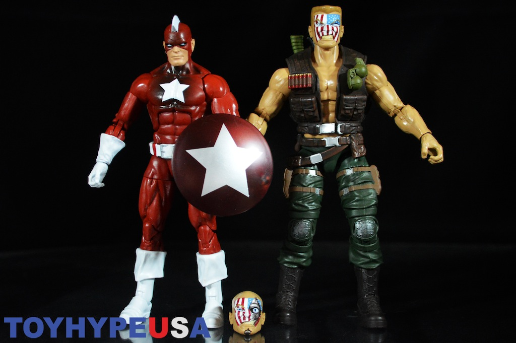 Hasbro Marvel Legends 6″ Captain America: Civil War – Red Guardian & Nuke Review
