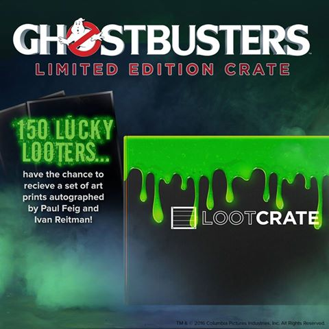 LootCrate Exclusive Ghostbusters Crate On Sale Now