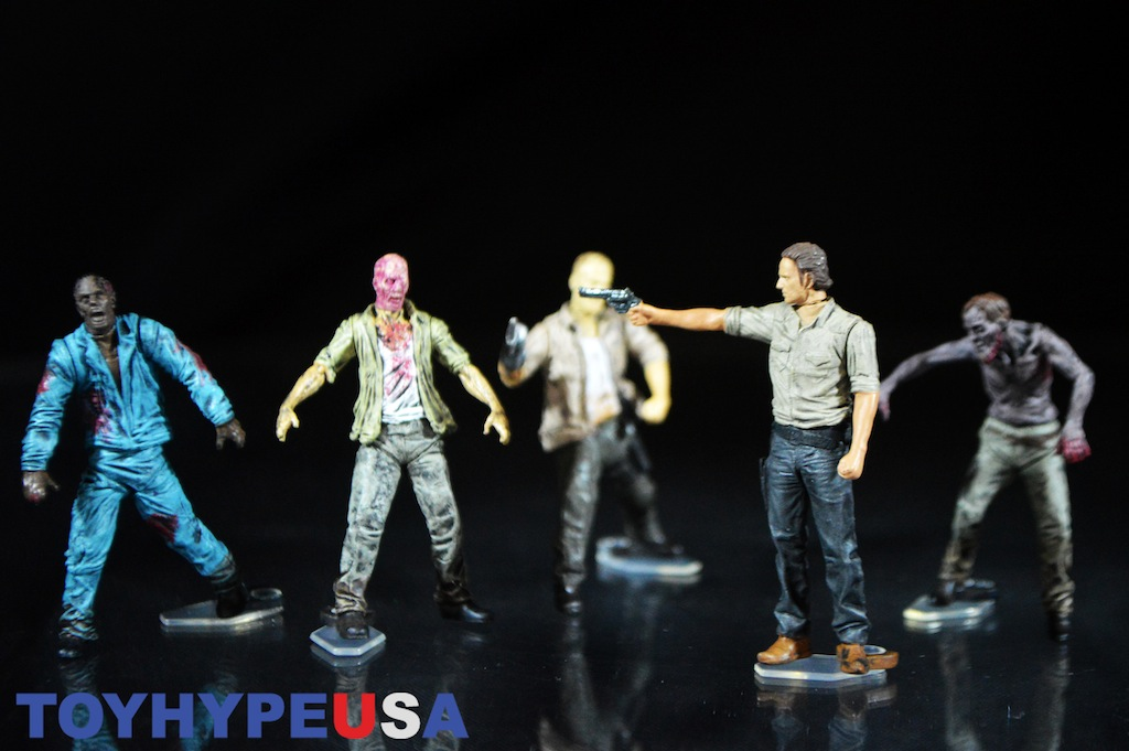 McFarlane Toys The Walking Dead Figure Pack Construction Set Review