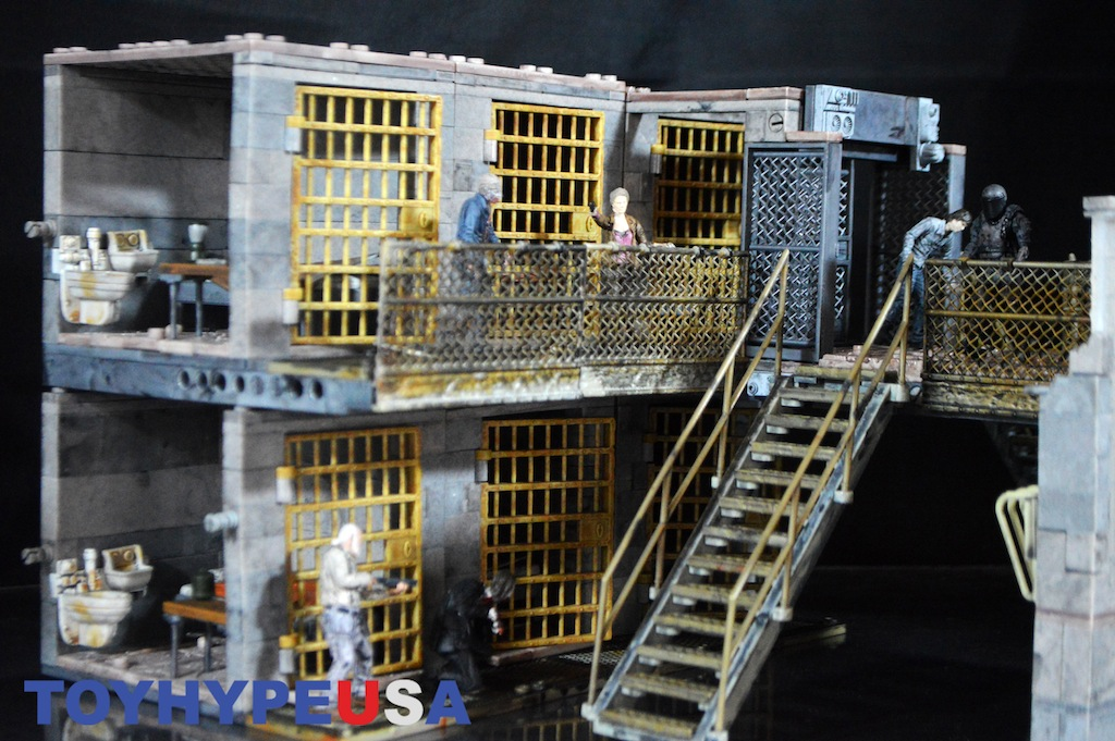 McFarlane Toys The Walking Dead Upper & Lower Prison Cell Review