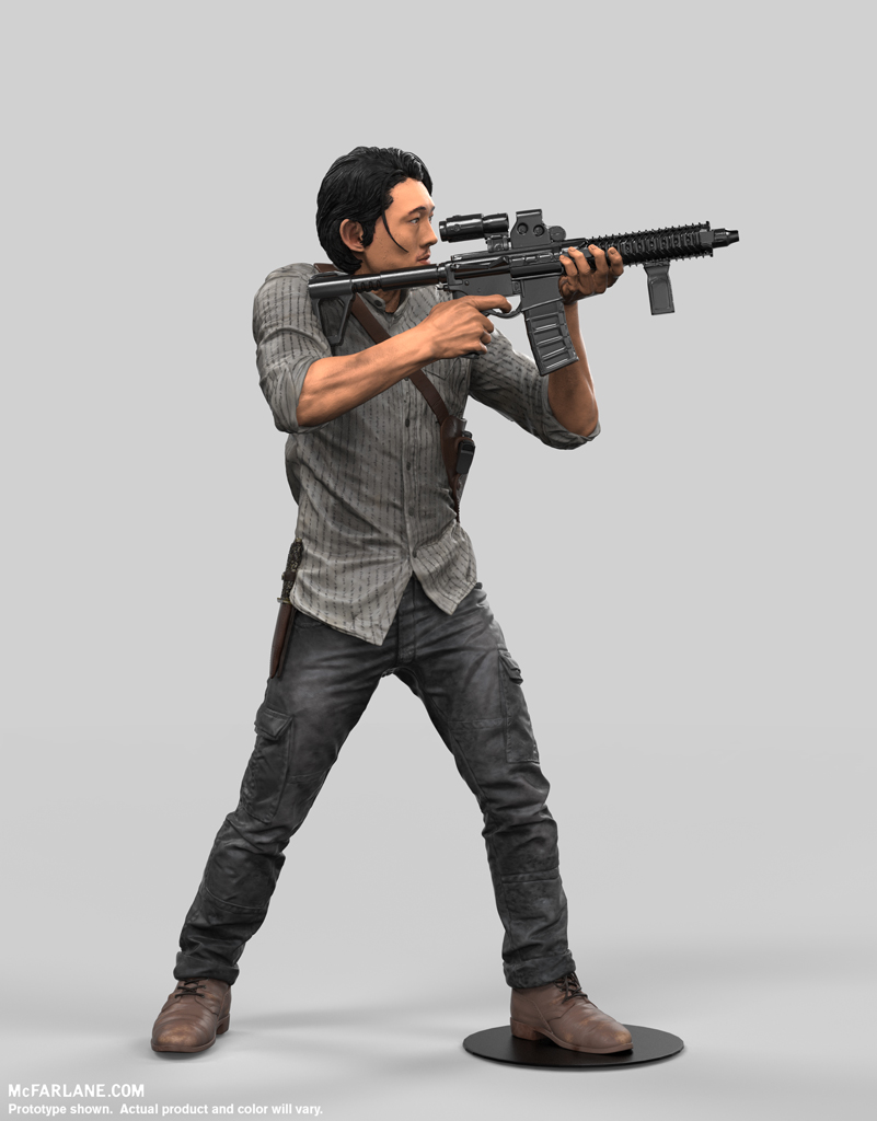 McFarlane Toys The Walking Dead TV Series 10″ Glenn Figure
