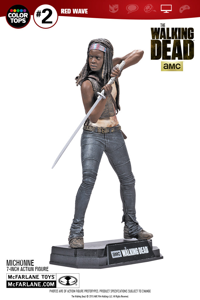 McFarlane Toys The Walking Dead TV Series 7″ Michonne Figure Update