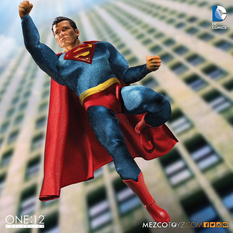 Mezco Toyz DC Comics One:12 Collective Superman Figure