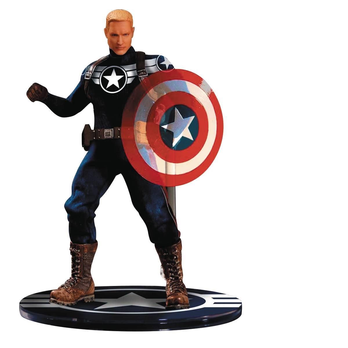 Mezco Previews Exclusive One:12 Collective Commander Rogers Captain America