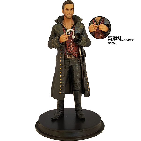 Icon Heroes SDCC 2016 Exclusive Once Upon A Time Hook Killian Jones Statue