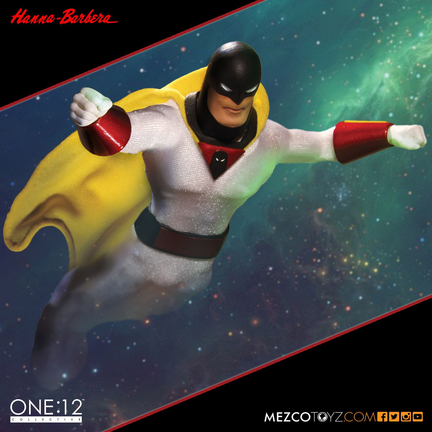 Mezco Toyz Space Ghost One:12 Collective Figure Pre-Orders