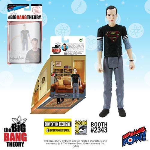 Entertainment Earth SDCC 2016 The Big Bang Theory Sheldon Cooper 3 3/4″ Figures