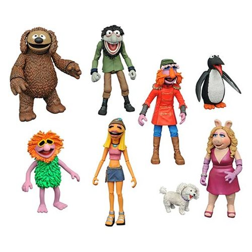 Diamond Select Toys In Stores This Week: Muppets, Caddyshack, Pirates & BTTF