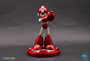 CAPCOM Mega Man Statue Red