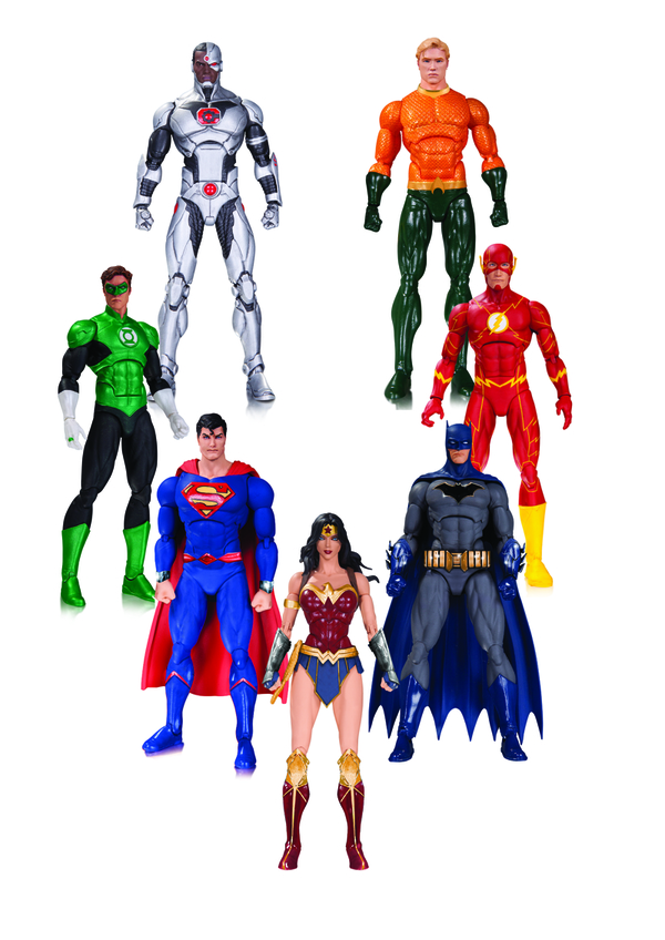 DC Collectibles Solicitations For February 2017 – DC Rebirth Justice League Boxset & More