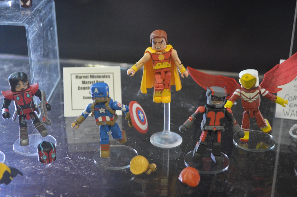 SDCC 2016: Walgreens Exclusive Marvel Minimates Wave 3 Booth Images