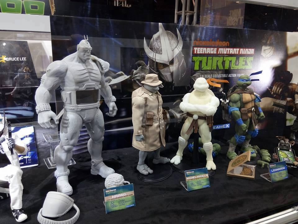 DreamEx: Teenage Mutant Ninja Turtles On Display In Hong Kong