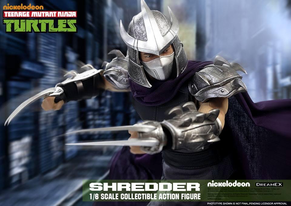 DreamEx: Teenage Mutant Ninja Turtles Shredder Sixth Scale Figure