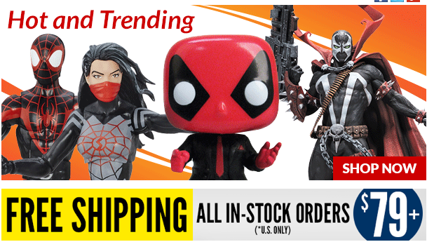 Entertainment Earth: Spider-Man Legends, Spawn, Ghostbusters & More