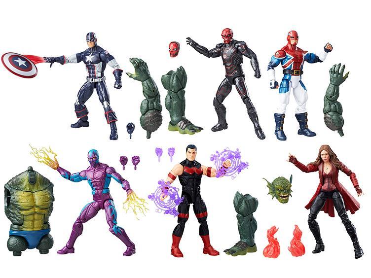 Hasbro Marvel Legends 6″ Captain America: Civil War – Abomination Build-A-Figure Wave Now $90