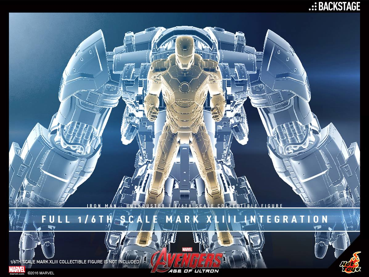 Hot Toys Avengers: Age Of Ultron Hulkbuster Sixth Scale Figure Updated Details